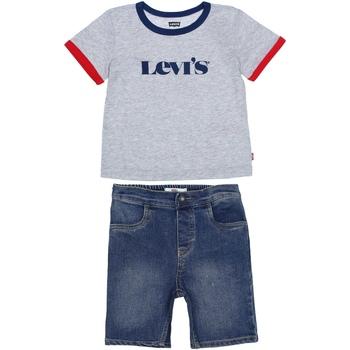 Vêtements Garçon Ensembles de survêtement Levi's Ensemble Bébé 2 pièces Gris