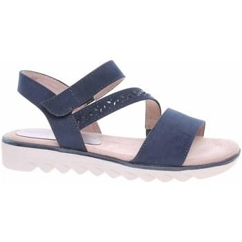 Chaussures Femme Sandales et Nu-pieds Jana 882866126805 Bleu marine