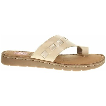 Chaussures Femme Tongs Jana 882710826360 Creme