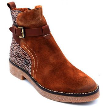 Chaussures Femme Boots Mkd eldia Marron