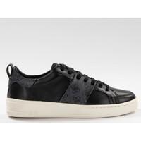Chaussures Homme Baskets basses Guess Verona genuine Noir