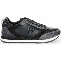 Chaussures Homme Baskets basses Guess Glorym Noir
