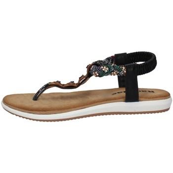 Chaussures Femme Sandales et Nu-pieds Tiglio 1331 NOIR