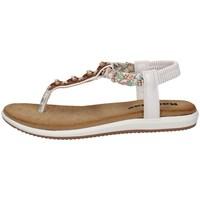 Chaussures Femme Sandales et Nu-pieds Tiglio 1331 BLANCHE