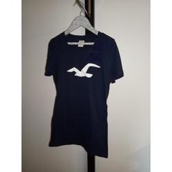 Vêtements Femme T-shirts manches courtes Hollister TEE SHIRT DE LA MARQUE HOLLISTER Bleu