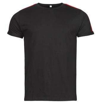 Vêtements Homme T-shirts manches courtes Yurban  Noir