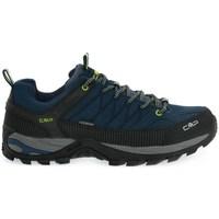 Chaussures Homme Randonnée Cmp Rigel Low Noir, Bleu marine