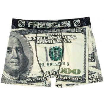 Sous-vêtements Homme Boxers Freegun FGP96/1/BM/DOL Beige