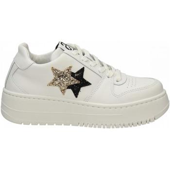 Chaussures Femme Baskets basses 2 Stars 2STAIR bianco-oro-nero