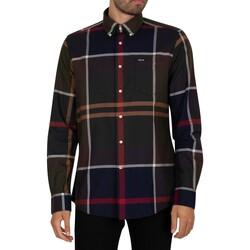 Vêtements Homme Chemises manches longues Barbour Chemise ajustée Dunoon multicolore