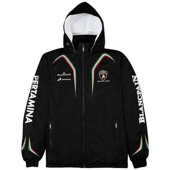 Vêtements Homme Vestes de survêtement Lamborghini SC UNI JACKET Noir
