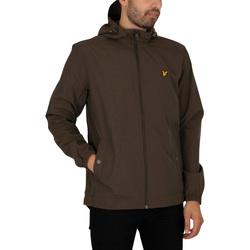 Vêtements Homme Blousons Lyle & Scott Zip à travers la veste à capuche vert