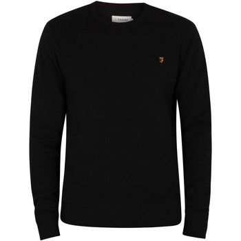 Vêtements Homme Pulls Farah Vintage Tim Sweatshirt noir