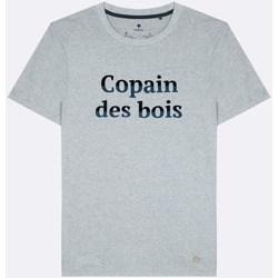 Vêtements Homme T-shirts manches courtes Faguo Arcy Gris