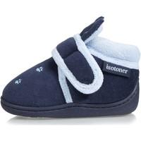 Chaussures Enfant Chaussons Isotoner Chaussons bottillons 3d Marine