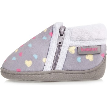 Chaussures Fille Chaussons Isotoner Chaussons bottillons multicolores Multicolor
