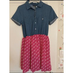 Vêtements Fille Robes courtes Guess (enfant) Robe Guess fille Multicolore