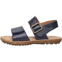 Chaussures Garçon Sandales et Nu-pieds Naturino KENNY-sandale d'été en cuir marine