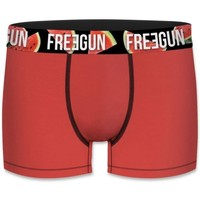 Sous-vêtements Garçon Boxers Freegun BCBASS3 rouge