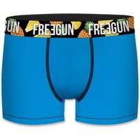 Sous-vêtements Garçon Boxers Freegun BCBASS3 bleu