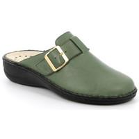 Chaussures Femme Sabots Grunland CIABATTA GRÜNLAND - DARA OLIVE vert