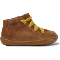 Chaussures Fille Boots Camper Baskets cuir Peu Cami FW marron