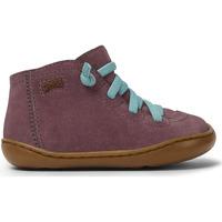 Chaussures Fille Boots Camper Baskets cuir Peu Cami FW mauve
