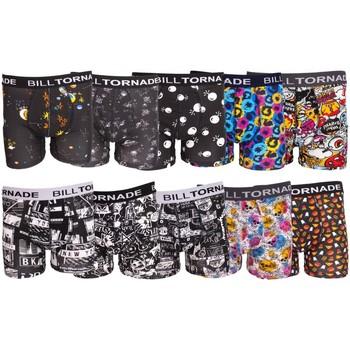 Sous-vêtements Homme Boxers Billtornade Print Multicolore