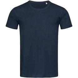 Vêtements Homme T-shirts manches courtes Stedman Stars Stars Bleu marine