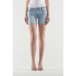 Vêtements Femme Shorts / Bermudas Le Temps des Cerises Short janka bleu clair BLUE