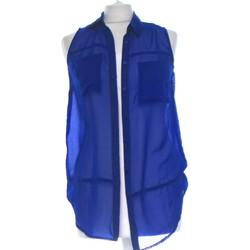 Vêtements Femme Chemises / Chemisiers Cache Cache Chemise  36 - T1 - S Bleu