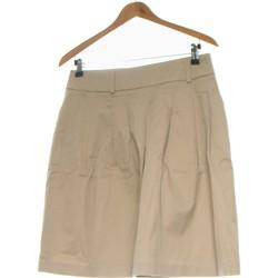 Vêtements Femme Jupes Zara Jupe Mi Longue  38 - T2 - M Beige