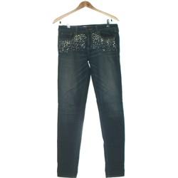 Vêtements Femme Jeans slim Abercrombie Jean Slim Femme  38 - T2 - M Bleu