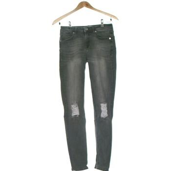 Vêtements Femme Jeans slim Mango Jean Slim Femme  36 - T1 - S Gris