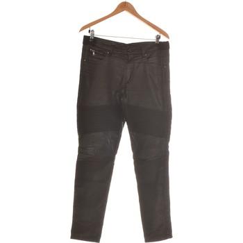 Vêtements Femme Pantalons 5 poches Sisley Pantalon Slim Femme  40 - T3 - L Noir