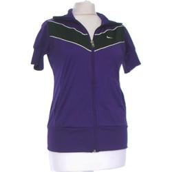 Vêtements Femme Gilets / Cardigans Nike Gilet Femme  38 - T2 - M Violet