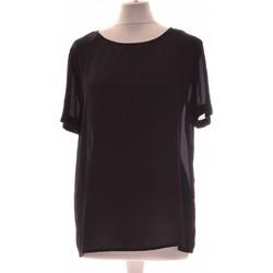 Vêtements Femme Tops / Blouses Forever 21 Top Manches Courtes  40 - T3 - L Noir