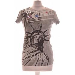 Vêtements Femme Tops / Blouses Pinko Top Manches Courtes  38 - T2 - M Gris