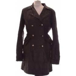 Vêtements Femme Manteaux DDP Manteau Femme  34 - T0 - Xs Noir