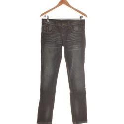 Vêtements Femme Jeans slim Benetton Jean Slim Femme  36 - T1 - S Bleu
