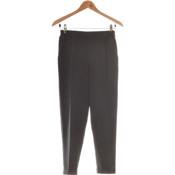Vêtements Femme Pantalons fluides / Sarouels Pull And Bear Pantalon Droit Femme  36 - T1 - S Bleu