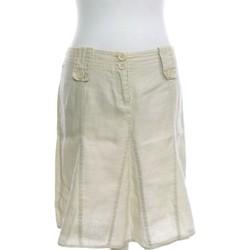 Vêtements Femme Jupes Ici Et Maintenant Jupe Courte  38 - T2 - M Beige
