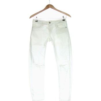Vêtements Femme Jeans slim Zara Jean Slim Femme  36 - T1 - S Blanc