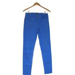 Vêtements Femme Jeans slim Massimo Dutti Jean Slim Femme  36 - T1 - S Bleu