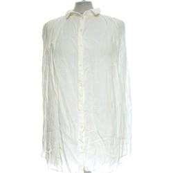 Vêtements Femme Chemises / Chemisiers Monoprix Chemise  36 - T1 - S Blanc