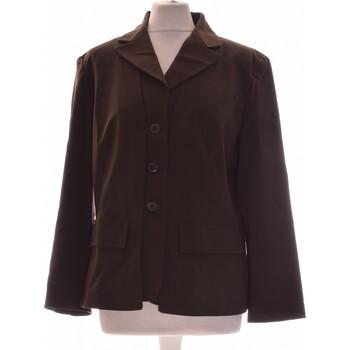 Vêtements Femme Vestes / Blazers Manoukian Blazer  44 - T5 - Xl/xxl Vert