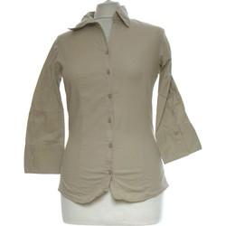 Vêtements Femme Chemises / Chemisiers Camaieu Chemise  38 - T2 - M Marron