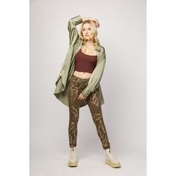Vêtements Pantalons 5 poches Toxik3 Pantalon imprimé chaînes - Chris Choco