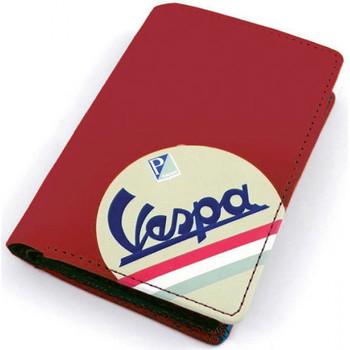 Sacs Portefeuilles Vespa Petit porte-cartes rouge