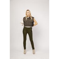 Vêtements Chinos / Carrots Toxik3 Pantalon casual - Luce Kaki